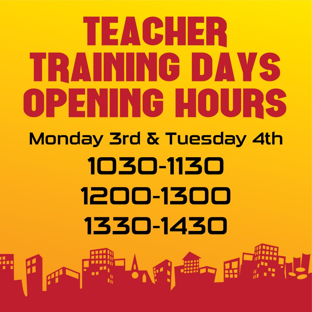 Teacher Training Day Opening Hours-01